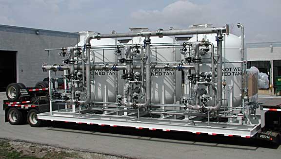 2000 GPM IndustrialMunicipal Triple Water Softener