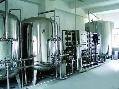 Industrial Reverse Osmosis (RO) Water Treatment System with Stainless Steel Softener Tanks