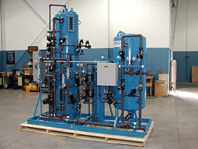 Industrial Water Mixed Bed Deionizer (DI)