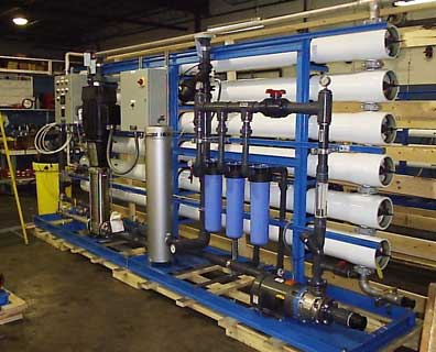 Large Industrial Reverse Osmosis System with 8 Inch Membranes