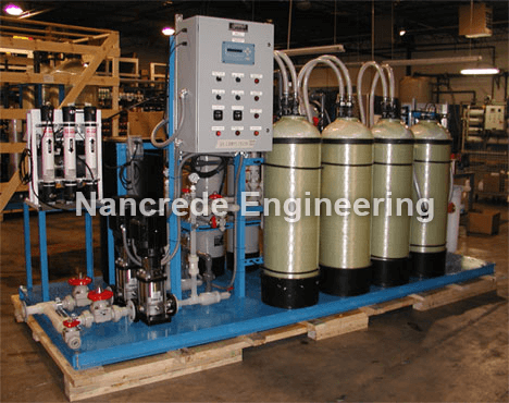 industrial deionized water system