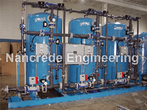 Industrial-Triple-Water-Softener-with-PLC-Controls