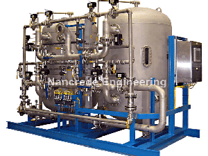 Industrial-Twin-Stainless-Steel--Demineralizer-(DI)-Water-Polisher
